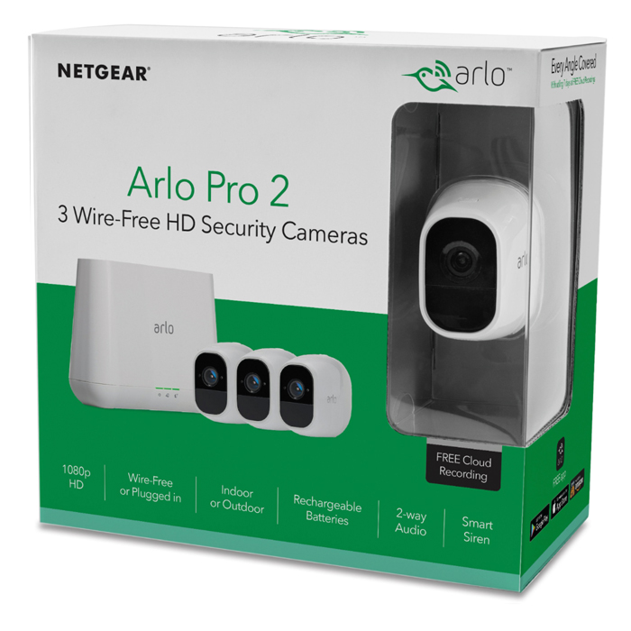 Netgear Arlo Pro Security 3 Camera