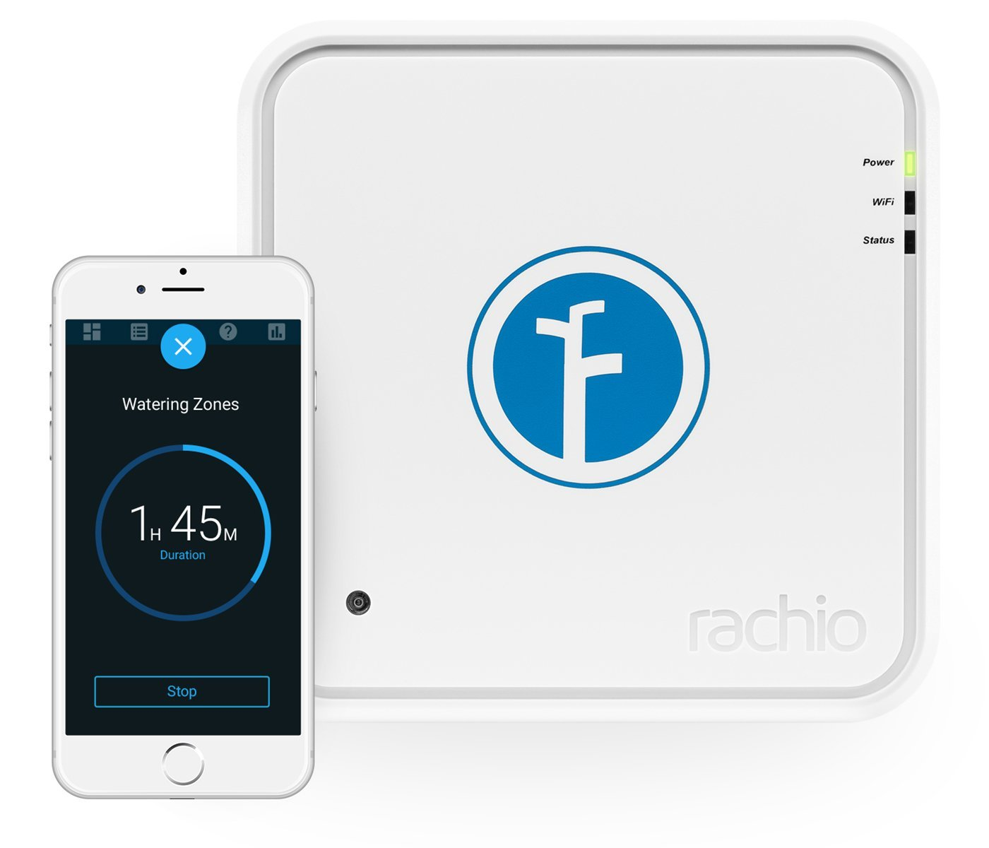 Rachio Smart Sprinkler Controller 16 Zone 1st Generation Works with Alexa