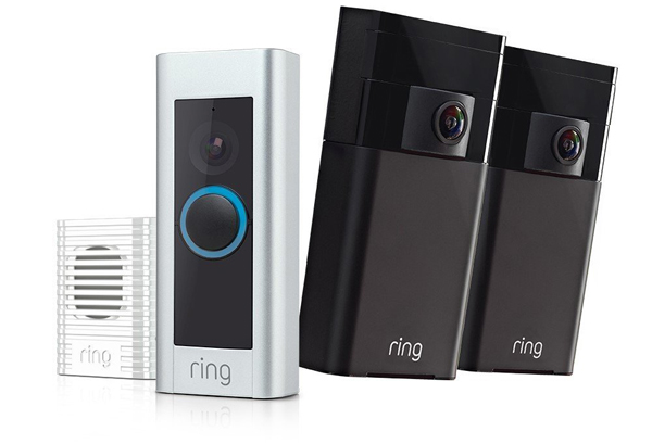 Ring Home Security Kit with Ring Doorbell Pro