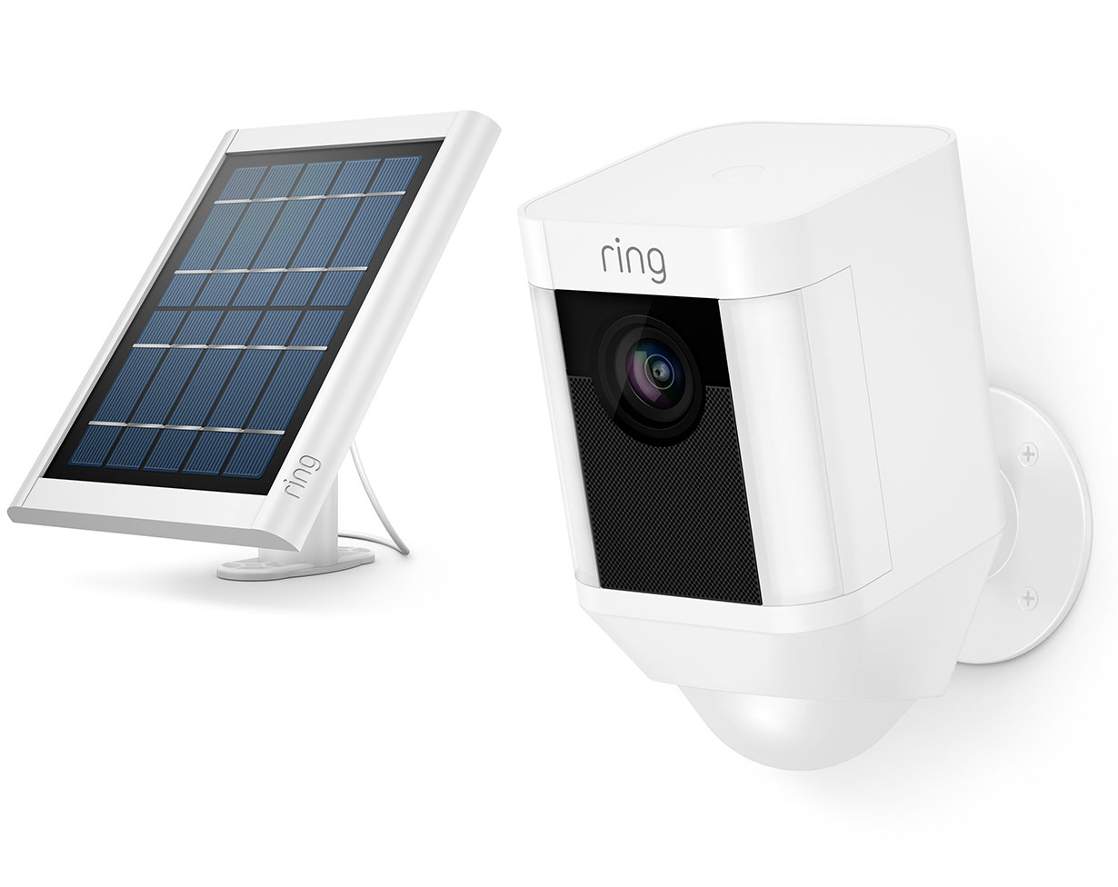 Ring Spotlight Cam Solar Smart Devices
