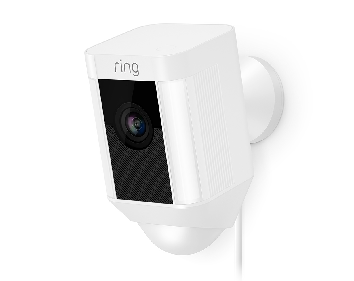 Ring Spotlight Cam Wired Smart Devices