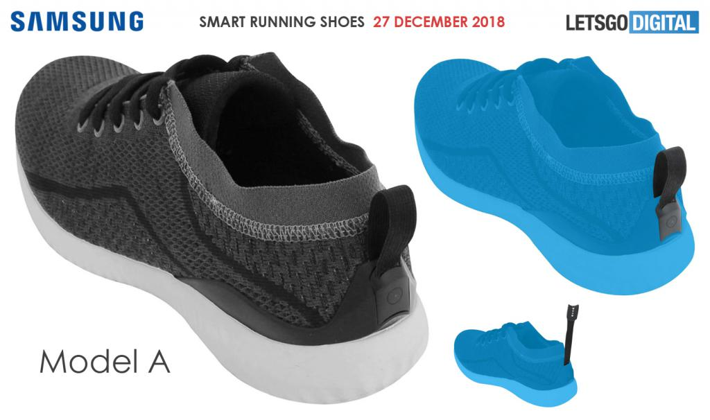 Samsung Patented Smart Shoes