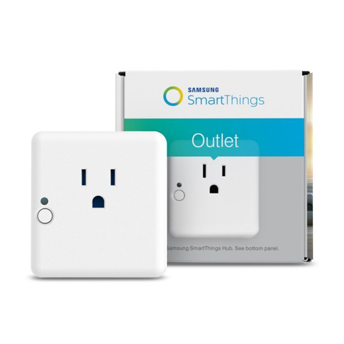 Samsung SmartThings Hub and Outlet Bundle Works with Amazon Alexa