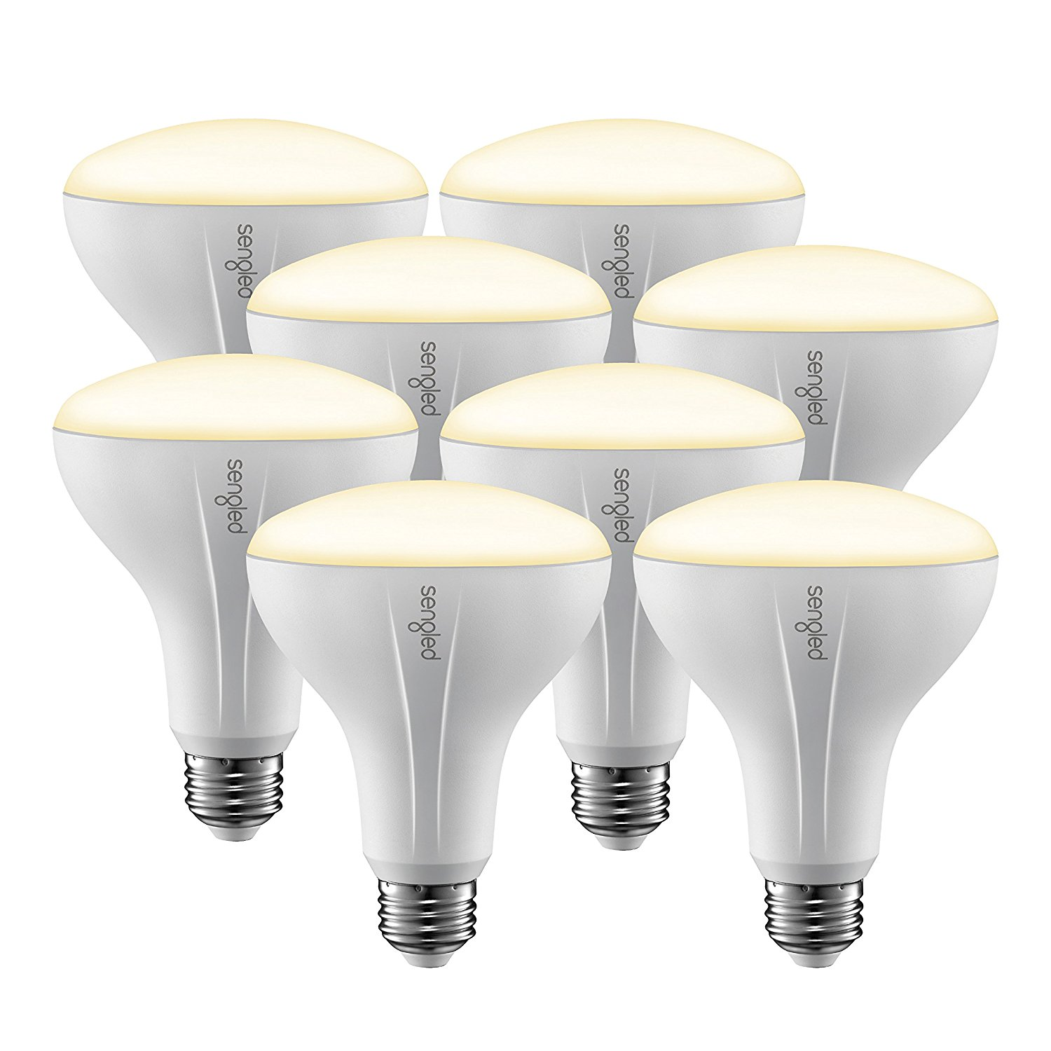 Sengled Element 8-Pack Smart Bulbs BR30 Dimmable Bulbs
