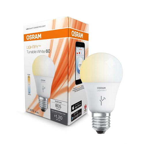 SYLVANIA LIGHTIFY by Osram Smart Home LED Light Bulb Works with Amazon Alexa