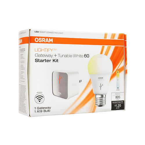 Sylvania Lightify by Osram Smart Home Starter Kit