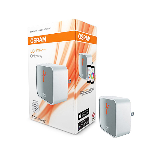 LIGHTIFY by Osram Wireless Gateway Hub Bridge between Smart Home Devices