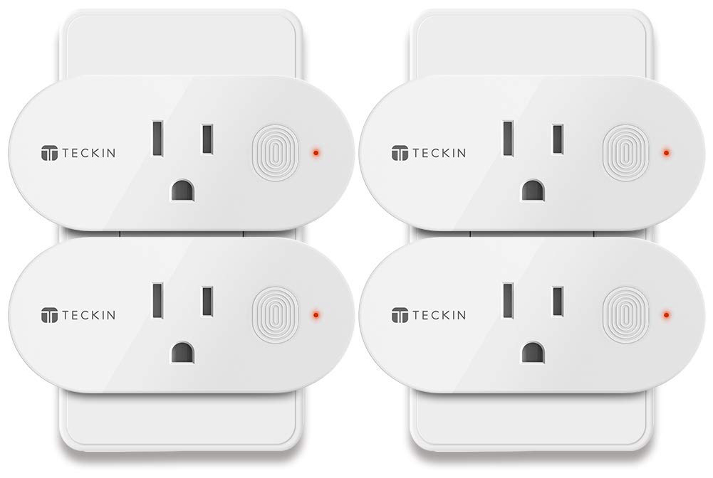Teckin Smart Mini Plug (4 Pack) | Smart Home Devices