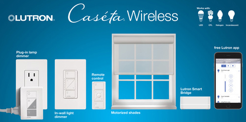 Top Caseta Wireless by Lutron Smart Home Devices