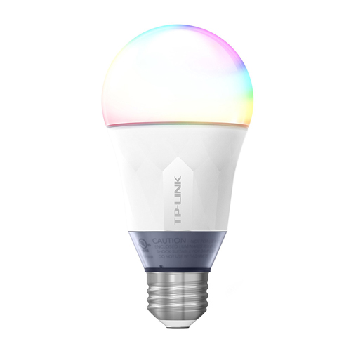 TP-Link Multicolor Smart Wi-Fi A19 LED Bulb Works with Alexa Dimmable Tunable White 16 Million Colors No Hub Required 60W Equivalent