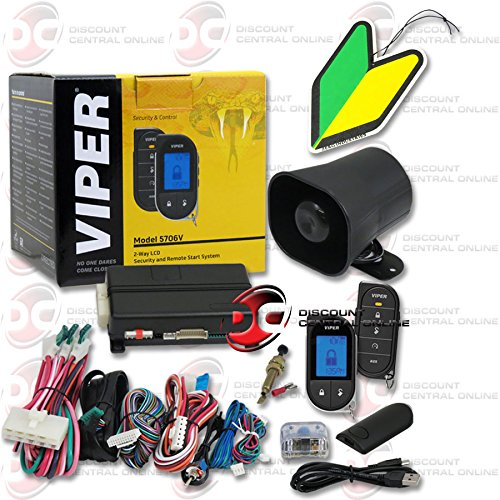 Viper Responder LC3 Supercode SST 2-way Car Alarm Security System with Keyless Entry & Remote Start