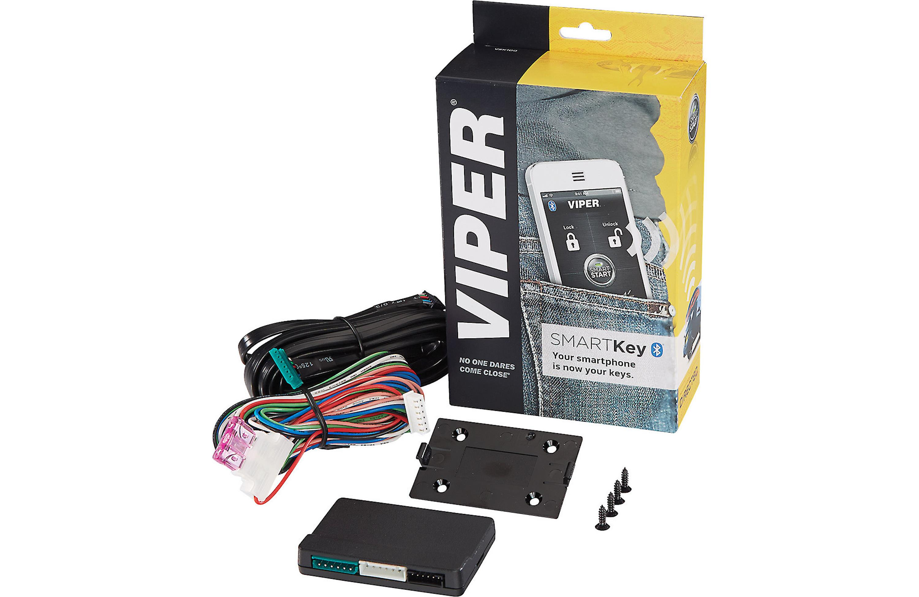 Viper VSK100 SmartKey Bluetooth Module Connects your smartphone to your car security remote start system