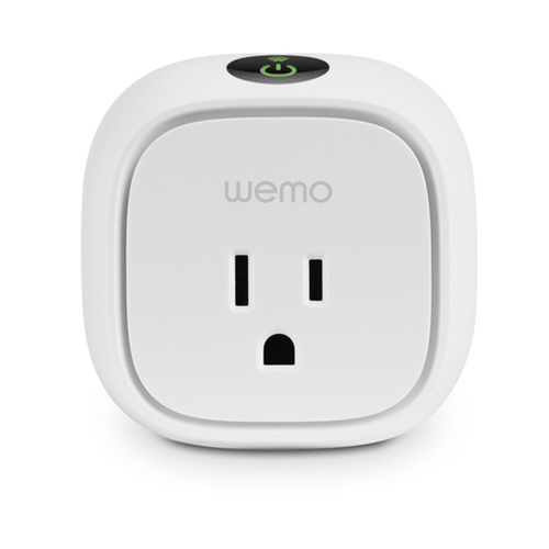 WeMo Insight Switch Smart Plug Wi-Fi Energy Monitoring