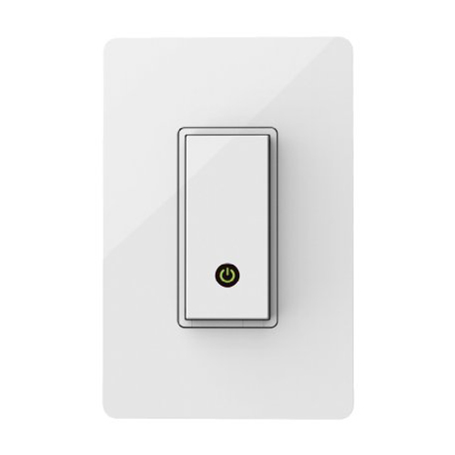 WeMo Light Switch Wi-Fi enabled Works with Amazon Alexa