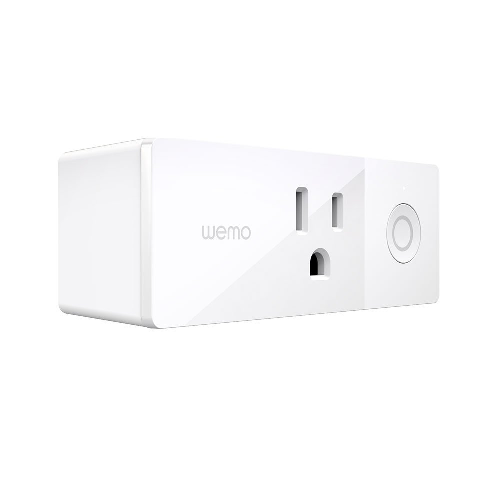 Wemo Mini Smart Plug Wi-Fi Enabled Works with Amazon Alexa