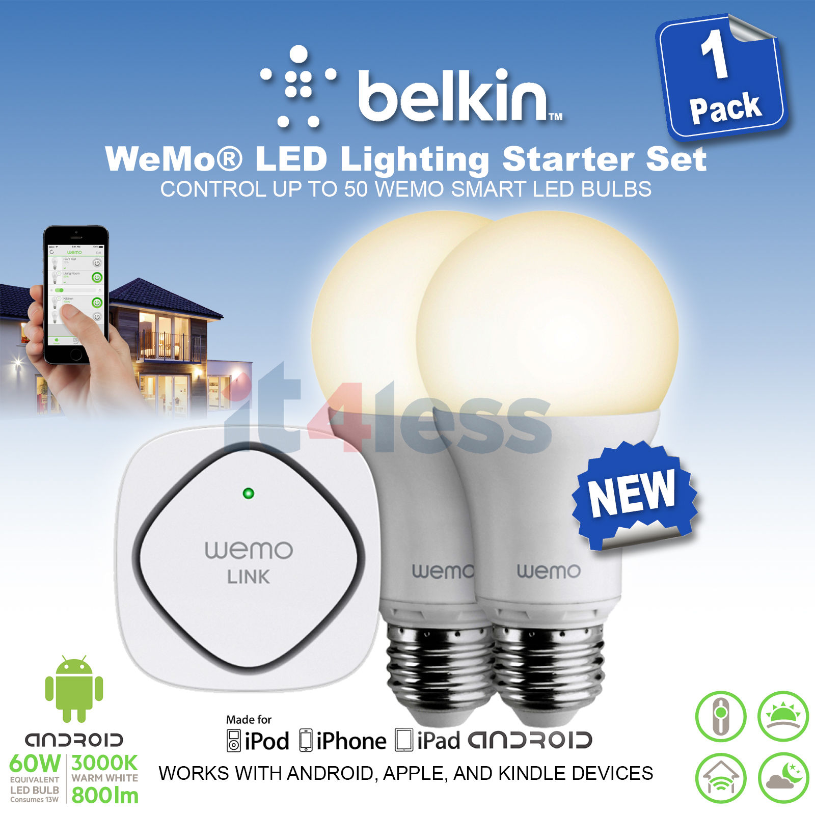WeMo Smart Lights & Lighting