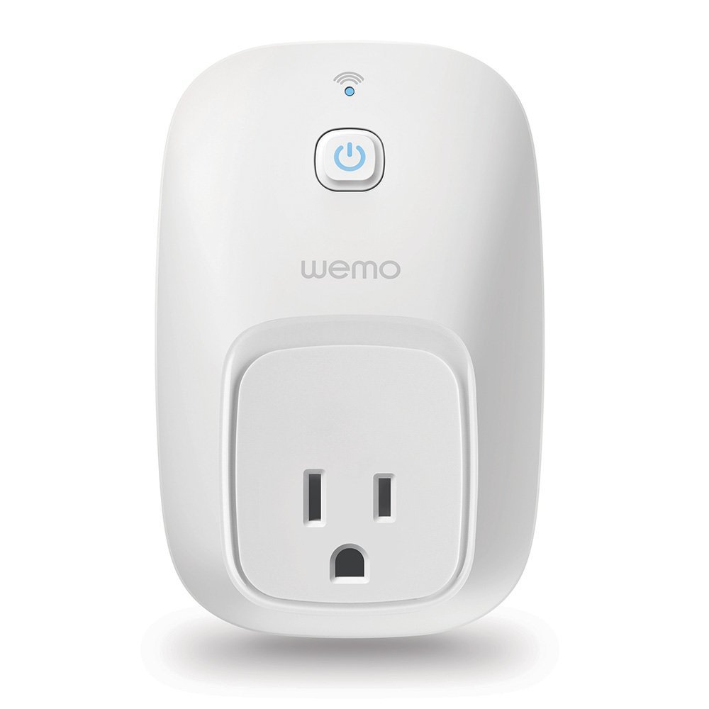 WeMo Switch Smart Plug Works with Amazon Alexa