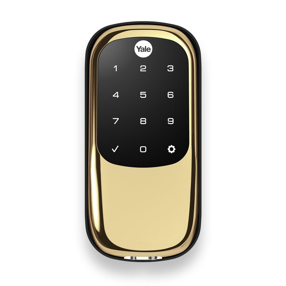 Yale Assure Lock Key Free Touchscreen Deadbolt with Z-Wave Plus