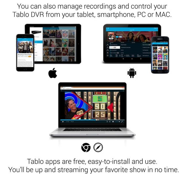 Tablo 4-Tuner OTA DVR Comparison