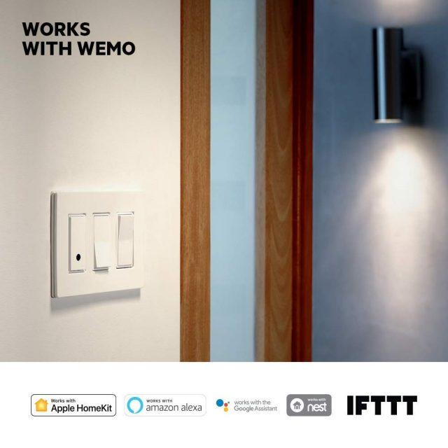 smart lights Wemo Light Switch