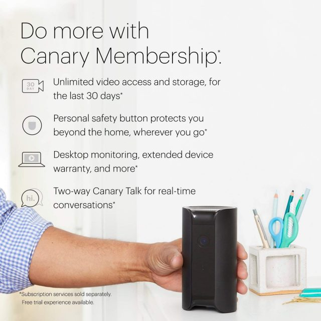 Canary Home Security Device Cam Compare