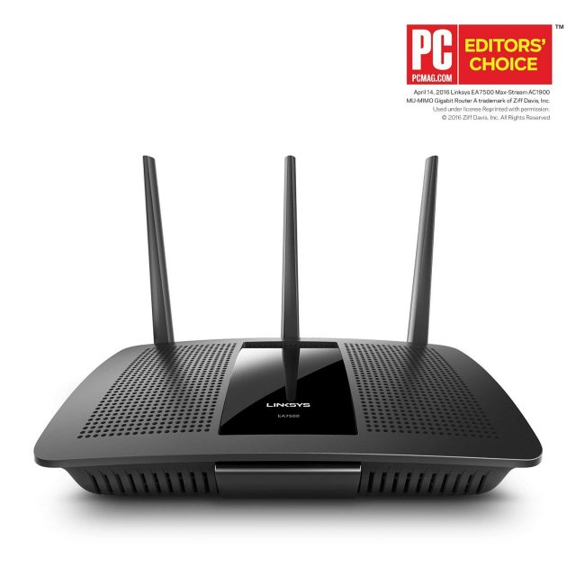 Smart Home Router Linksys AC1900 Dual Band Wireless Router