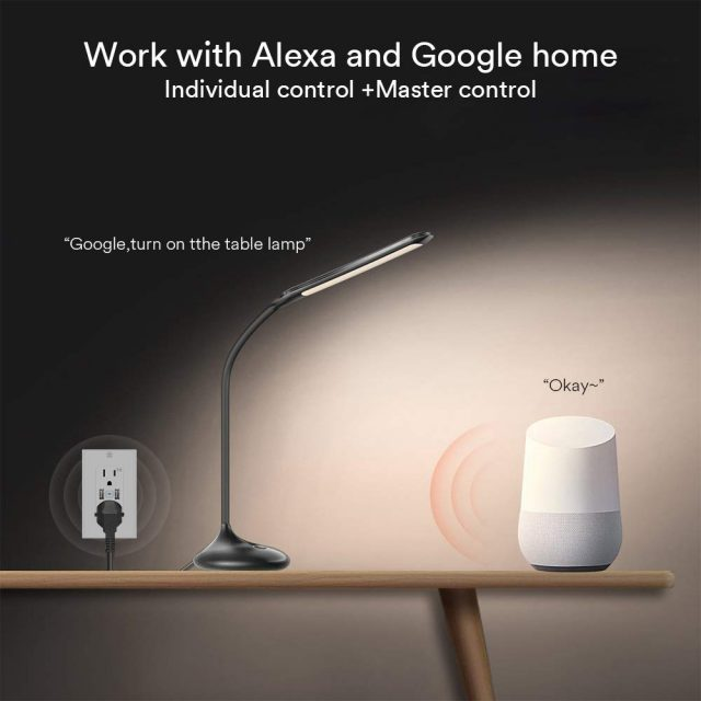Lumary works with Alexa and Google