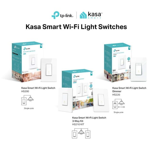 Smart Lighting TP-Link Smart Light Switches