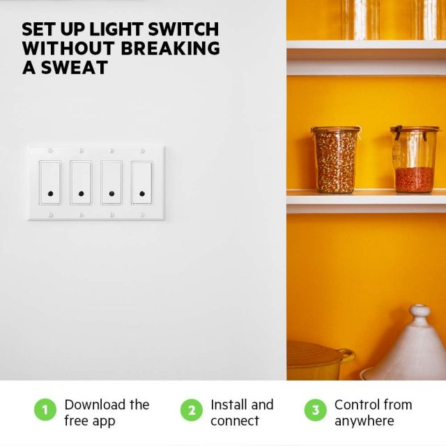 Smart Lighting Wemo Smart Light Switch