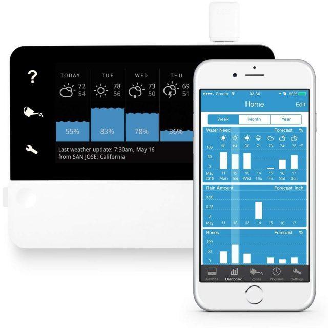 RainMachine Touch Smart WiFi Irrigation Controller Compare
